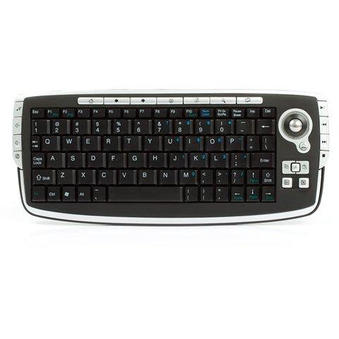 Беспроводная мини клавиатура с трекболом 2,4 ГГц