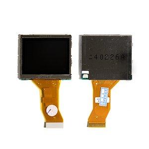 LCD compatible with Canon ELPH2, IXUS 430, IXUS 500, IXUS I , IXUS I5, IXUS II, IXY320, SD20