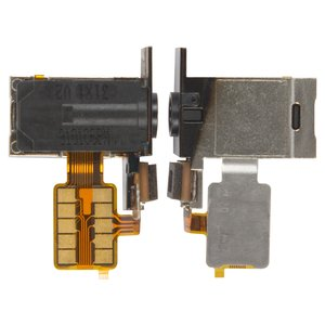 Handsfree Connector compatible with Nokia 920 Lumia, (with microphone, with flat cable)