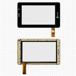 "Touchscreen China-Tablet PC 7""; Ritmix RMD-740, (7"", 197 mm, 118 mm, 30 pin, capacitive, black) #ZCC-1500 V1"