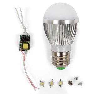 LED Light Bulb DIY Kit SQ-Q01 3 W (cold white, E27)