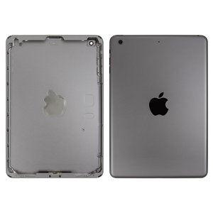 Back Cover for Apple iPad Mini 2 Retina Tablet, (black, (version Wi-Fi))