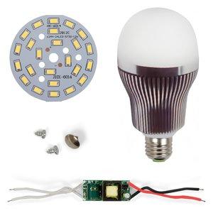 LED Light Bulb DIY Kit SQ-Q32 5730 12 W (cold white, E27)
