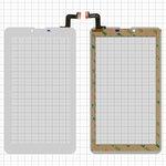 """Cristal táctil puede usarse con Elenberg TAB740; Irbis TZ47, TZ70; Nomi C07004 Sigma+, C07006 Cosmo+ ; Prestigio MultiPad Wize (PMT3407); Digma  Hit 4G, Plane 7.4 4G, 7"""", 184 mm, 104 mm, 31 pin, tipo 1, con sensor de acercamiento, capacitivo, blanco, #MTCTP-70760/MTCTP-70152/DP070023-F1/ZHC-0525A/FPC-FC70S786-00 FHX/FPC-CY70S217-00"""