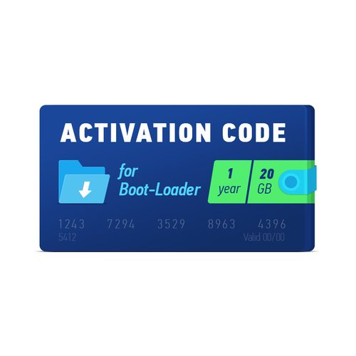 Активационный код Boot-Loader 2.0 (1 год, 20 ГБ)