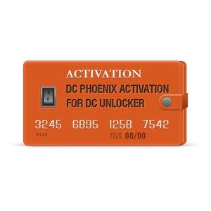 Активация DC Phoenix для DC Unlocker