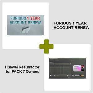 Продление доступа в зону поддержки Furious на 1 год + Huawei Resurrector для обладателей Furious PACK 7