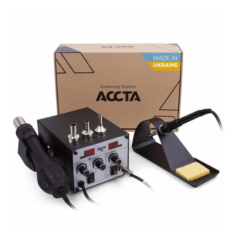 Термоповітряна паяльна станція Accta 301 Зображення 1