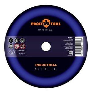 Круг відрізний по металу PROFITOOL INDUSTRIAL 125х2,5х22,2 мм