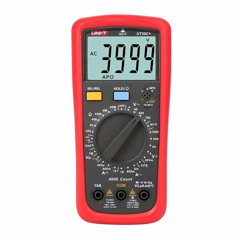 Цифровий мультиметр UNI T UTM 139C+ UT39C+