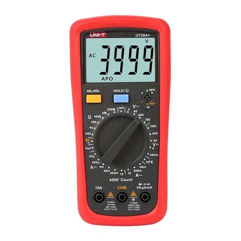Цифровий мультиметр UNI T UTM 139A+ UT39A+