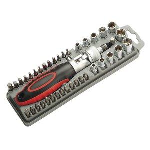 Набір насадок з регульованою тріскачкою Pro'sKit SD-2309