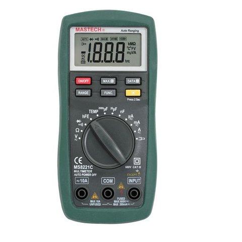 Цифровий мультиметр MASTECH MS8221C
