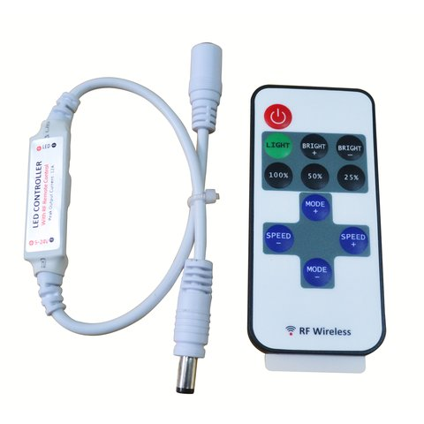 LED Mini Dimmer with Remote Control HTL 004 single color