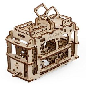 Mechanical 3D Puzzle UGEARS Tram